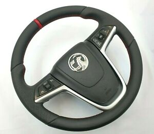 Opel Vauxhall Insignia 2008 2013 Leather Steering Wheel New Leather