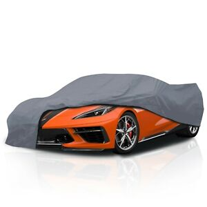 Cct 5 Layer Weather Waterproof Full Car Cover For Chevy Corvette C8 2020