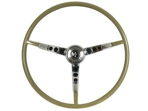 1965 66 Ford Mustang Steering Wheel Kit W horn Ring Spring Ivy Gold