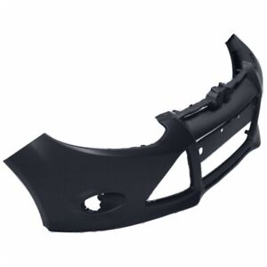 Primered Front Bumper Cover For 2012 2013 2014 Ford Focus Sedan W Tow Hole