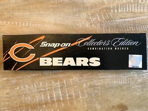 Snap On Chicago Bears Wrench Limited Edition Nfl Combination Wrench