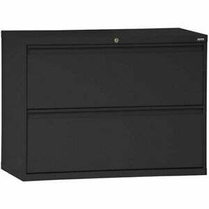 Sandusky 2 Drawer Lateral File Cabinet 19 25 X 42 00 X 28 38