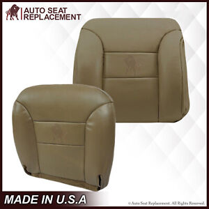 1995 To 1999 Gmc Sierra Chevy Tahoe Suburban Synthetic Leather Seat Cover Tan