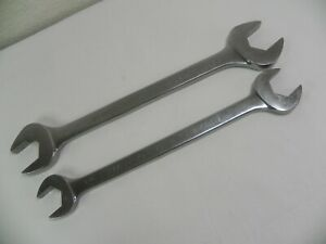 Matco Tools 2 Piece Sae Double Open End Large Wrench Set Heavy Duty Woe Series