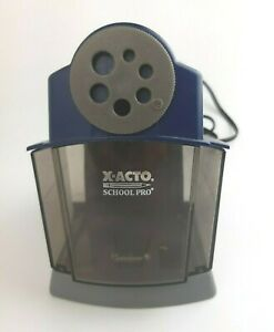 X acto Schoolpro Classroom Electric Pencil Sharpener Heavy Duty