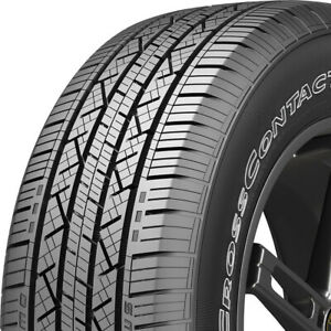 2 New 245 65r17 Continental Cross Contact Lx25 245 65 17 Tires