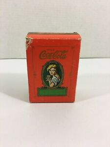 Drink Coca Cola Playing Cards M.S.R. Imports 1980