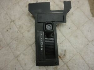 1984 1985 1986 Chevy Camaro Berlinetta Console Shifter Plate With Knob Auto