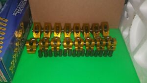 Sbf Small Block Ford 1 6 Ratio Aluminum Roller Rockers Arms 3 8 Stud