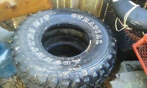 Adventuro M T Gt Radial Tires Used In Good Condition Even Wear On Front Tires
