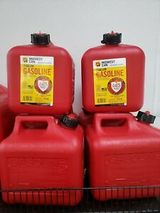 Midwest Can 2310 Fmd Gasoline Container 2 Gallon Gas Can Plus 8 Oz For Oil