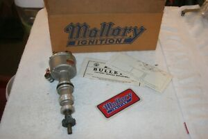 Nos Vintage Mallory Dual Point Distributor Ford 390 427 428cj Mint In Box