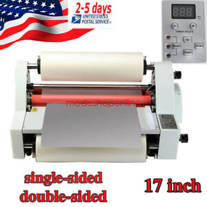 Full Mute Hot And Cold Roll Laminating Machine Automatic Temperature Control Usa