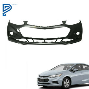 Primered Front Bumper Cover For 2016 2017 2018 Chevy Cruze W o Park Assist