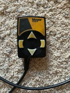 Genuine Oem Meyer Snow Plow Touchpad Control 6 Pin 22154 Used Great Condition