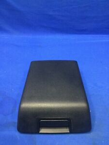 2004 2008 Ford F150 Center Consol Lid Arm Rest Leather Black