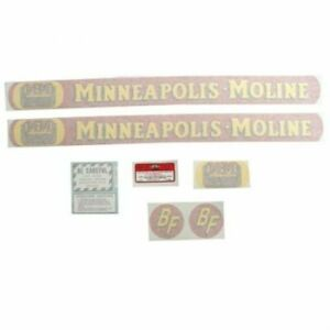 Fits Minneapolis Moline Tractor s Bf avery Full Size Gold Tractor R avery