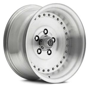 Center Line 005p Auto Drag Wheel 15x10 16 5x114 3 81 Polished Single Rim