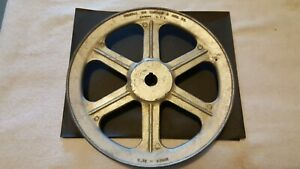 Chicago Die Casting Single V Groove Spoke Pulley 1000b 10 B