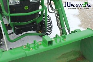 John Deere Compact Tractor Bolt On Grab Hooks D Rings 2 Receiver All in one