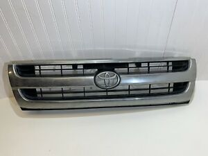 1997 1998 1999 2000 Toyota Tacoma Front Chrome Grille Oem