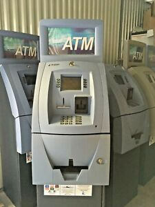 Triton 9100 Atm With Topper Electronic Lock For Parts Only Not Working