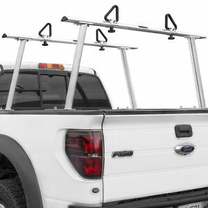 Adjustable Aluminum Pickup Truck Ladder Racks 1000lbs Universal Lumber Utility