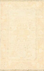Vegetable Dye Muted Oushak Turkish Hand Knotted Area Rug Oriental Carpet 2x3