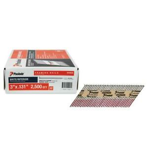 Paslode Framing Nails 3 In X 0 131 Gauge Collation Resistant 2500 Per Box