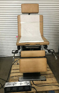 Midmark Ritter 8550a Power Exam Table Procedure Chair obgyn Surgical Foot Pedal