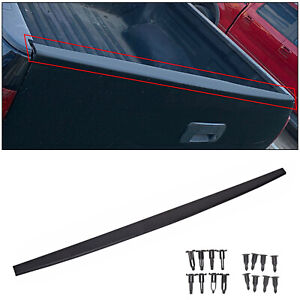 For 2007 13 Toyota Tundra Tailgate Cap Molding Cover Protector Trim W Retainers