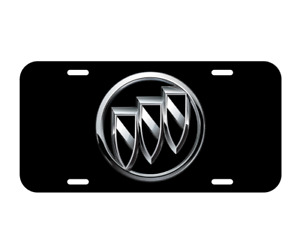 Buick License Plate Front Black Plate Verano Regal Lacrosse Encore Enclave New