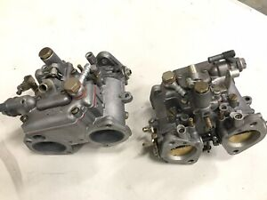 44mm Dellorto Dhla Side Draft Carburetors