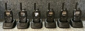 Set Of 6 Kenwood Protalk Xls Business Radios Tk 3230 k Complete Good Cond