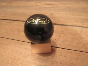 Vintage Ford Shift Knob Handle Gear Floor Accessory Black Mustang