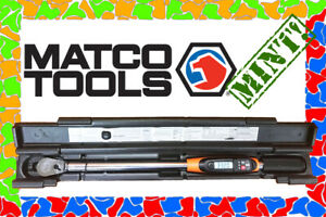Matco Tools 1 2 Electronic Digital Torque Wrench 25 250 Ft Lbs Etwc250a Mint
