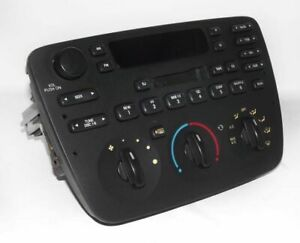 2001 Ford Taurus Am Fm Cassette Cd Control Radio W Upgraded Auxiliary Mp3 Input