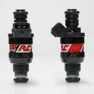 Rc Saturated Fuel Injectors 550cc For Nissan 350z