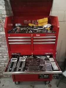 Tool Box Loaded With Tools