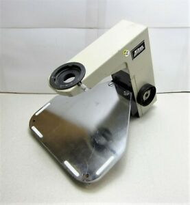 Nikon Optiphot Microscope Arm Stage Assembly