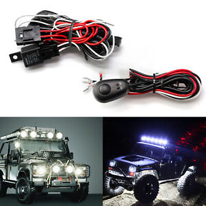 1 To 2 12v 40a Led Work Light Bar On Off Switch Relay Wiring Harness Cable Set