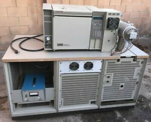 Hp 5988a Gc ms System 5890 Series 2 Gas Chromatograph