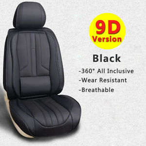 Deluxe 5 seat Car Seat Cover Universal Suv Front rear Pu Leather Car Accessories