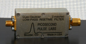 Picosecond Pulse Low Pass Risetime Filter 5905 798mhz