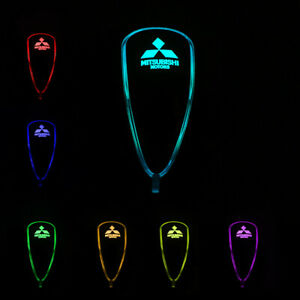 Car Auto Gear Shift Knob Led Light 7 Color Touch Activated Sensor For Mitsubishi