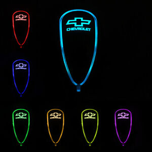 Car Auto Gear Shift Knob Led Light 7 Color Touch Activated Sensor For Chevrolet