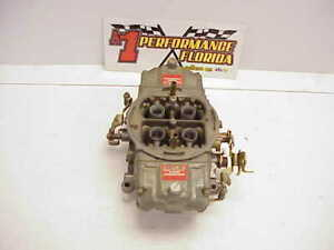 Rapture Holley 830 Cfm Annular Boosters Gas Racing Carburetor Nascar Braswell