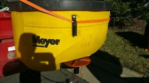 Meyer Tailgate Salt Spreader 9cu Ft Connects To Ball Hole On Stock Bumper