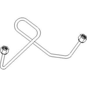 738913m91 1 Cylinder Injection Line Made To Fit Mf 540 70 320 1080 1085