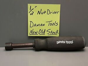 Daman Tools 1 2 Nut Driver New Old Stock For The Craftsman Mechanic